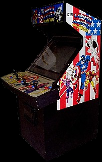Captain America and The Avengers (Asia Rev 1.0) Cabinet