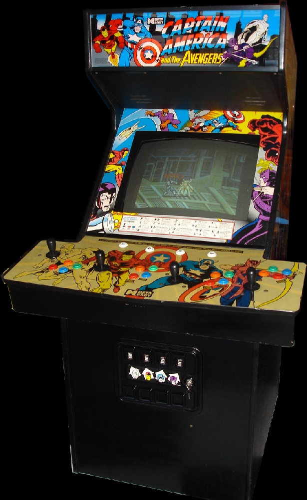 Captain America and The Avengers (Japan Rev 0.2) Cabinet