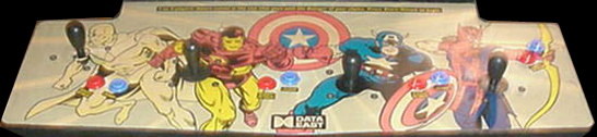 Captain America and The Avengers (US Rev 1.9) Cabinet