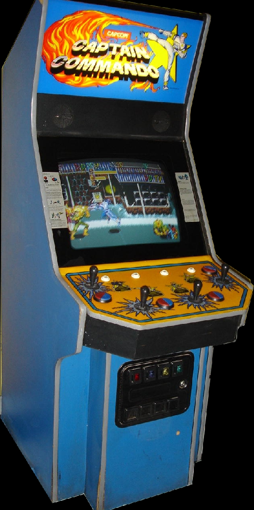 Captain Commando (World 911014) Cabinet