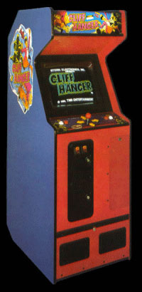 Cliff Hanger (set 1) Cabinet
