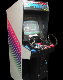 Championship Sprint (German, rev 1) Cabinet