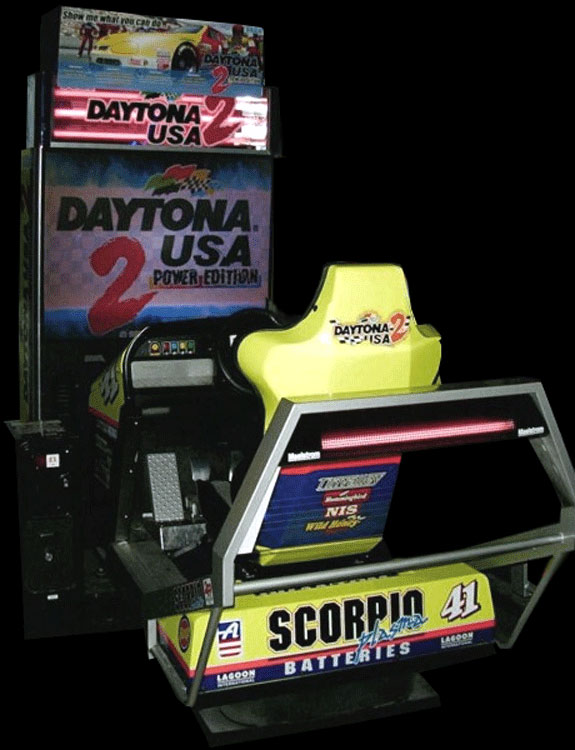Daytona USA 2 Power Edition Cabinet