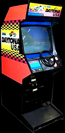 Daytona USA (Japan, Turbo hack, set 1) Cabinet