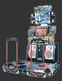 Dance Dance Revolution 4th Mix (G*A33 VER. AAA) Cabinet