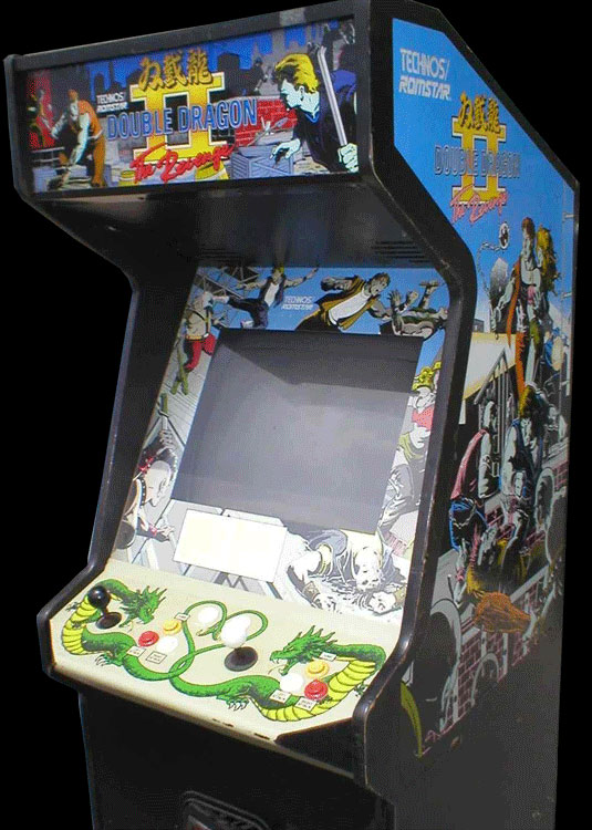Double Dragon II - The Revenge (World) Cabinet