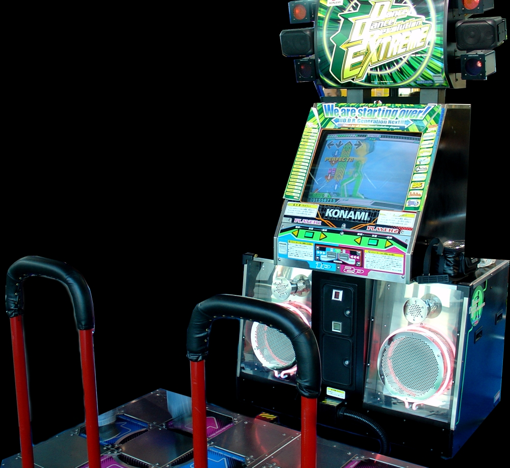 Dance Dance Revolution Extreme (G*C36 VER. JAA) Cabinet