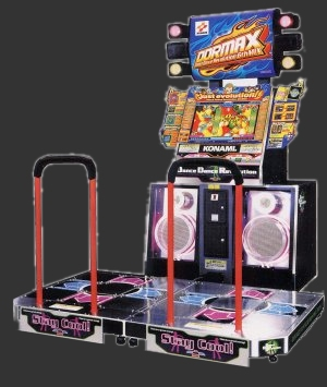 DDR Max - Dance Dance Revolution 6th Mix (G*B19 VER. JAA) Cabinet