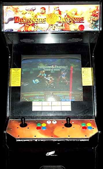 Dungeons & Dragons: Tower of Doom (Euro 940113) Cabinet