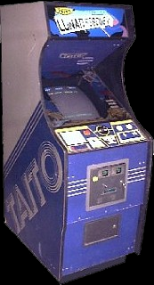Destination Earth (bootleg of Lunar Rescue) Cabinet
