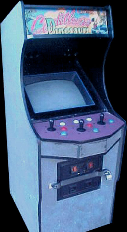 Cadillacs and Dinosaurs (World 930201) Cabinet