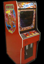 Donkey Kong (Japan set 2) Cabinet