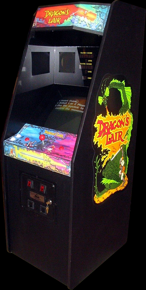 Dragon's Lair (US Rev. F2) Cabinet