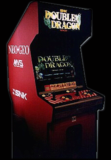 Double Dragon Cabinet
