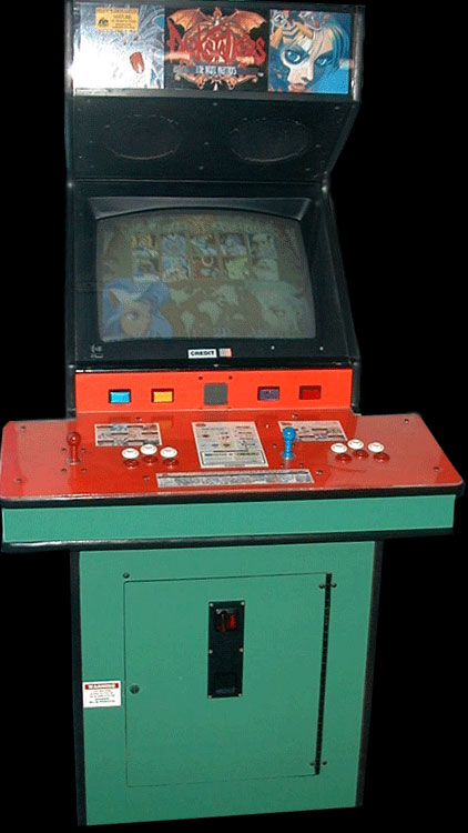 Darkstalkers: The Night Warriors (Euro 940705) Cabinet