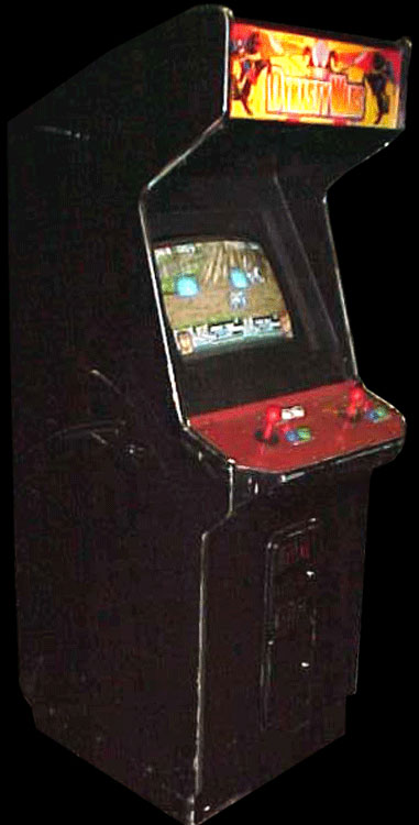 Dynasty Wars (USA, B-Board 89624B-?) Cabinet