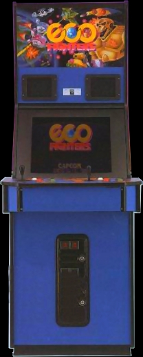 Eco Fighters (World 931203) Cabinet