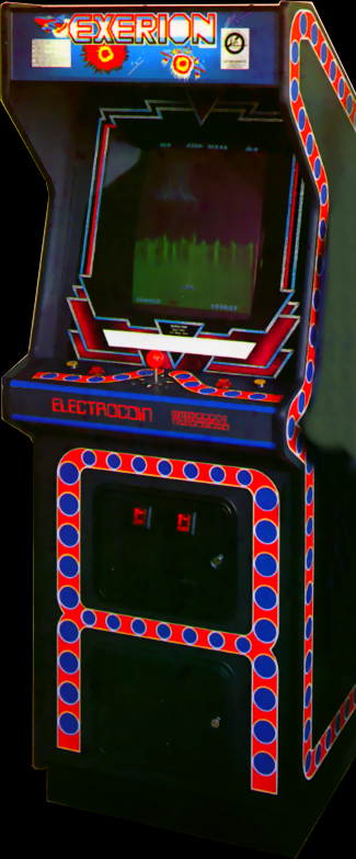 Exerion (Taito) Cabinet