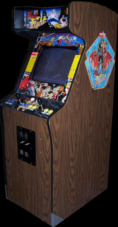 Final Fight (World, set 1) Cabinet