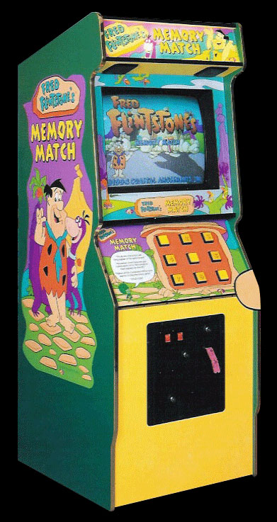 Fred Flintstones' Memory Match (World?, Ticket version, 3/17/95) Cabinet