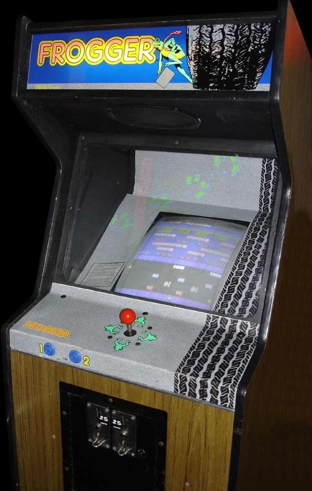 Frogger Cabinet