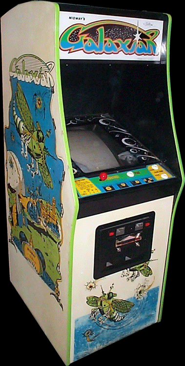 Galaxian (Midway set 1) Cabinet