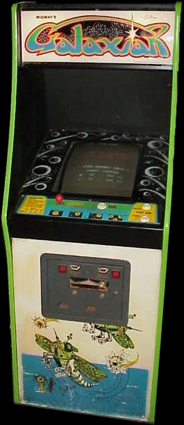 Galaxian (Midway set 2) Cabinet