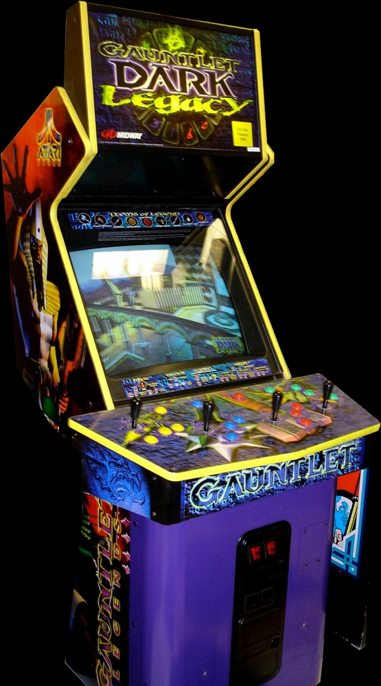 Gauntlet Dark Legacy (version DL 2.4) Cabinet