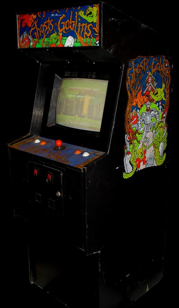 Ghosts'n Goblins (World? set 1) Cabinet