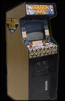 Golden Axe (set 5, US) (FD1094 317-0122) Cabinet