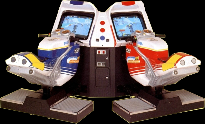 GP Rider (World, FD1094 317-0163) (Twin setup) Cabinet