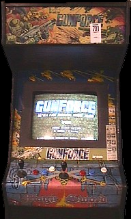 Gunforce - Battle Fire Engulfed Terror Island (Japan) Cabinet
