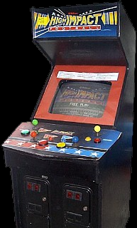 High Impact Football (prototype, rev 8.6 12/09/90) Cabinet