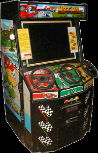 Hot Rod (World, 3 Players, Turbo set 2, Floppy Based) Cabinet