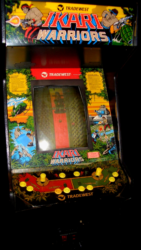 Ikari Warriors (US JAMMA) Cabinet