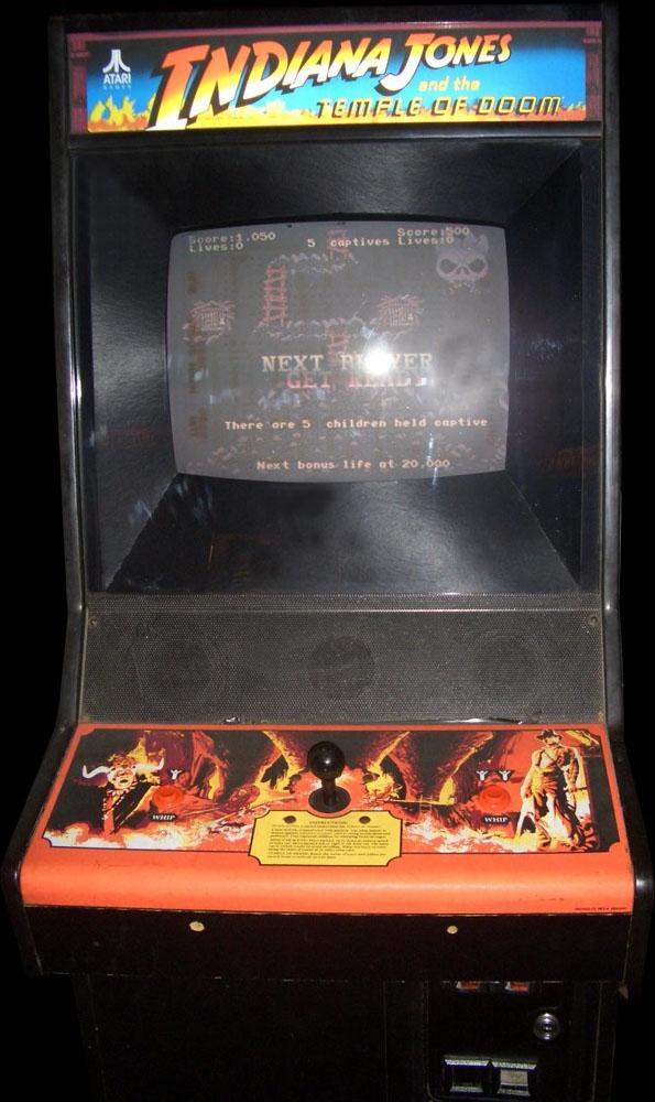 Indiana Jones and the Temple of Doom (set 1) ROM < MAME ROMs ...