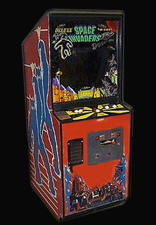 Space Invaders Deluxe Cabinet