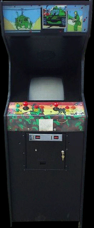 Jackal (World, 8-way Joystick) Cabinet