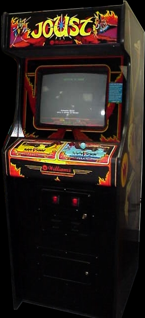 Joust (White/Green label) Cabinet