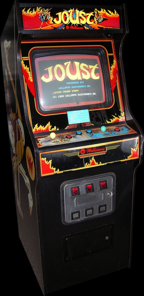 Joust (Solid Red label) Cabinet