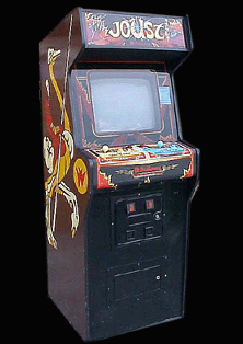 Joust (White/Red label) Cabinet