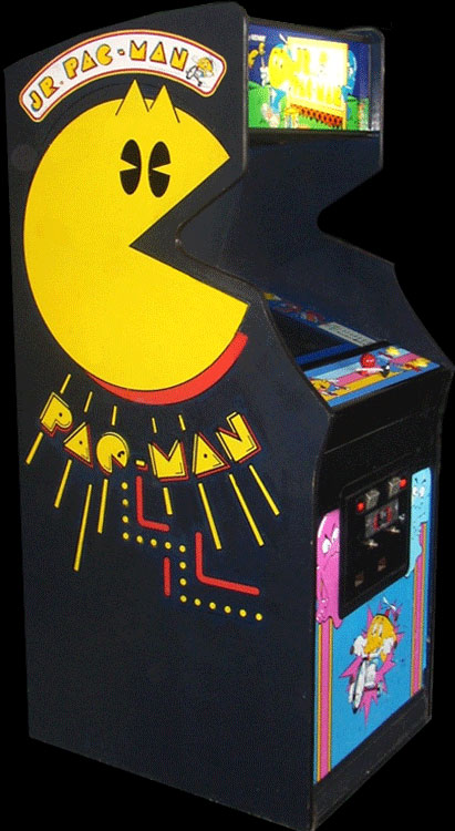 Jr. Pac-Man (11/9/83) Cabinet