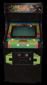 Jungle King (Japan, earlier) Cabinet