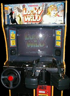 Lucky & Wild (Japan) Cabinet