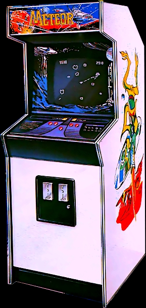 Meteor (bootleg of Asteroids) Cabinet