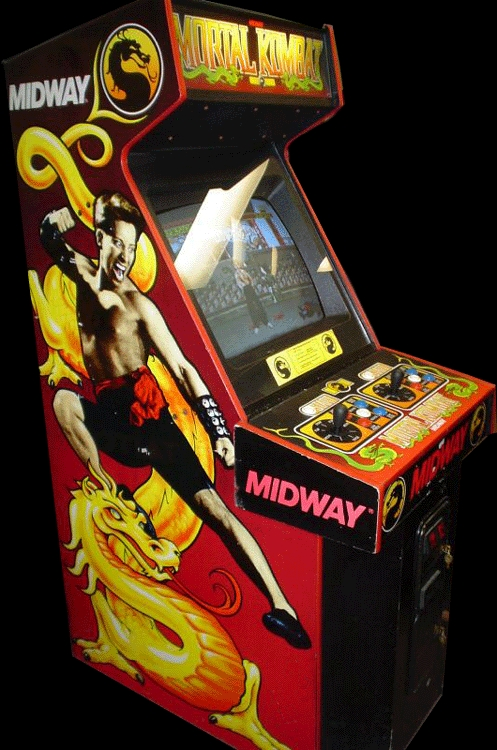 Mortal Kombat (rev 5.0 T-Unit 03/19/93) Cabinet
