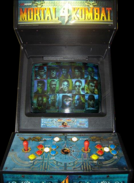 Mortal Kombat 4 (version 2.1) Cabinet