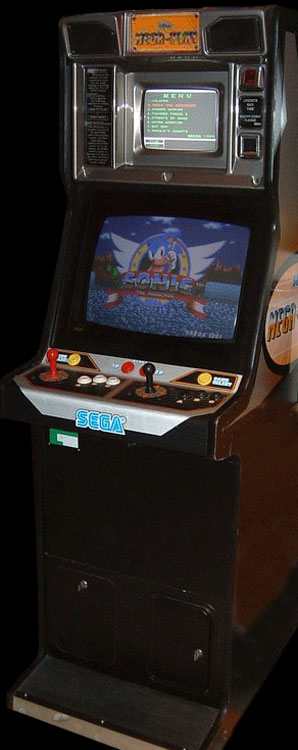 Sonic The Hedgehog (Mega Play) Cabinet
