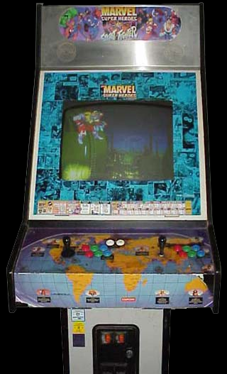Marvel Super Heroes Vs. Street Fighter (Euro 970625) Cabinet