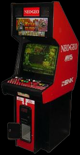 Metal Slug X: Super Vehicle-001 Cabinet
